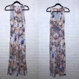 W118 by Walter Baker Watercolor Floral Maxi Dress